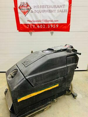 NSS Wrangler 3330DB Walk Behind Floor Scrubber TESTED & Working!
