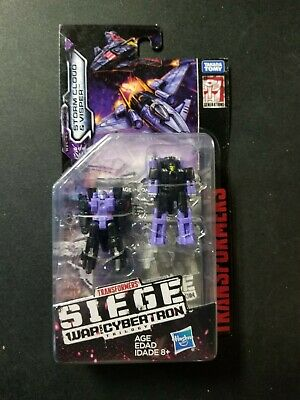 Transformers Generations siege Micromasters-Storm Cloud /& visper New /& Sealed
