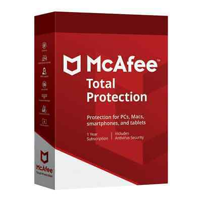 McAfee Total Protection 2020 Antivirus 🔥 10 Device 3 Years ✅email Delivery📥
