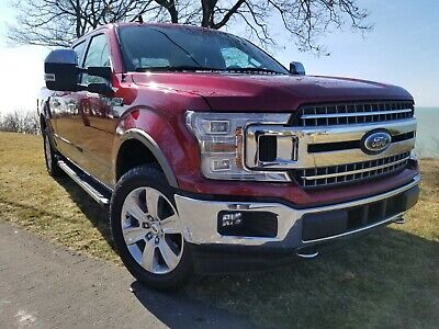 2019 Ford F-150 LARIAT 2019 FORD F-150 LARIAT CREW CAB 4X4 NAV CHROME PACKAGE HEATED SEATS SENSORS
