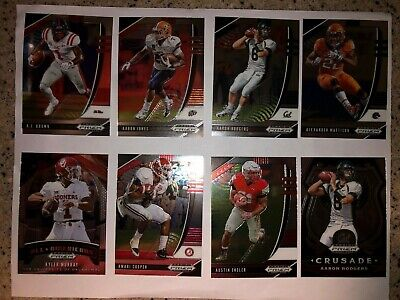 2020 Panini Prizm Draft Picks Football Cards Base 1-100 You Choose Ncaa Card Fs