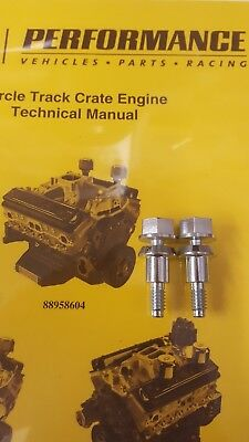 604 crate engine Timing Cover bolts