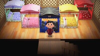 All 5 Cute beds! Animal Crossing New Horizons ACNH