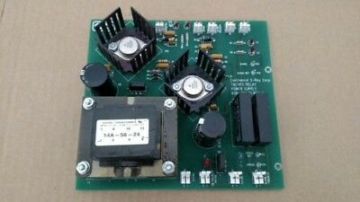 Continental X-ray Generator TM/HFC Relay Power Supply Board