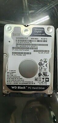 Western Digital Black 500GB,Internal,7200RPM,2.5 inch (WD5000LPLX) Hard Drive