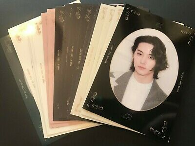 """GOT7 - *Choose Member* - Official DYE """"Not By The Moon"""" Mirror Cards"""