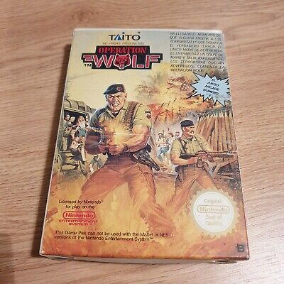 Operation Wolf Nintendo Nes Pal Esp Cib