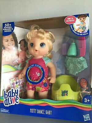 Baby Alive Potty Dance Baby Blonde Hair