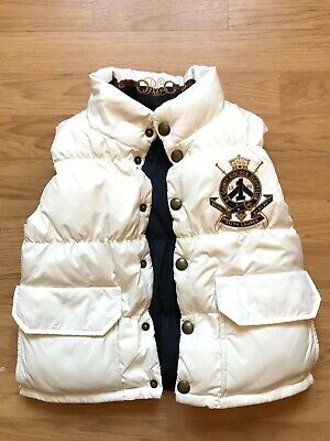 Gorgeous Ralph Lauren Girls Reversible  Body Warmer Gillet Size Age S(7)