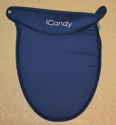 iCANDY PEACH 3 ROYAL BLUE NAVY LOWER CARRYCOT APRON