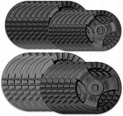 High Quality Cast Iron Tri-Grip Standard Weight Plates from manufacturer