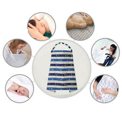 Mother Baby Comfy Breastfeeding Cover Elastic Nursing Clothes Wrap Maternity G