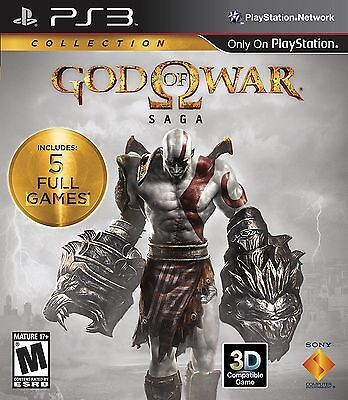 Dieu De War: Saga Collection [PLAYSTATION 3 PS3 - Gow 1 2 3] Tout Neuf