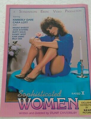 Kimberly Dare in Sophisticated Women Promo Ad Slick Poster