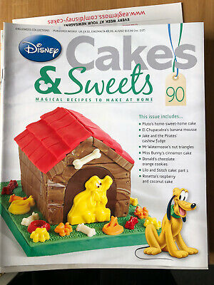 Disney Cake And Sweets Magazine Issue 90