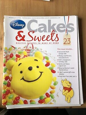 Disney Cake And Sweets Magazine Issue 23