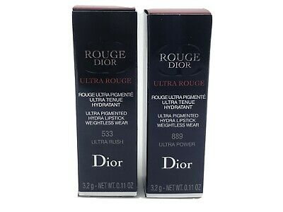 Dior Rouge Dior Ultra Rouge Limited Edition Ultra Pigmented Lipstick RRP £30