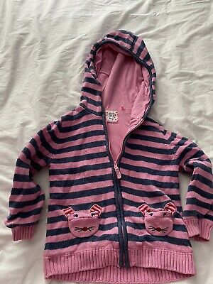 Cute Girls Hoodie Age 4/5 With Mice Pockets!