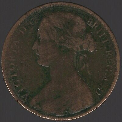 1875 Victoria One Penny | British Coins | Pennies2Pounds