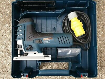 Bosch Jigsaw GST 150 CE, body grip 110v, joinery wood work tool