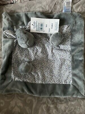 Metzuyan Baby Waffle Blanket and Comforter Set Soft Security Receiving Blanket /& Comforter One Size, Blue Elephant Swaddle for Infants and Toddlers Warm