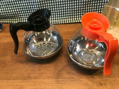 Metal bottom replacement carafe commercial decanters for BUNN drip coffee makers