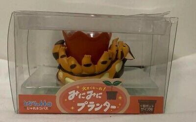 Studio Ghibli My Neighbor Totoro Mini Plant Pot Catbus - New In Package