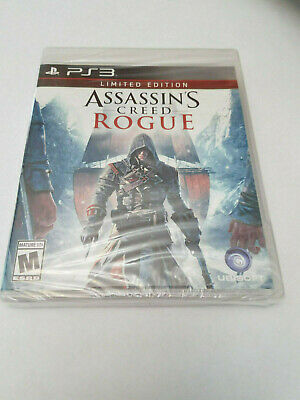 Ps3 Assassin's Creed Rogue Limited Edition Playstation 3 Game Brand New Sealed