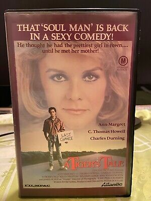 A tigers tale, C. Thomas Howell, no DVD release, Filmpac comedy, V.G.  1988.