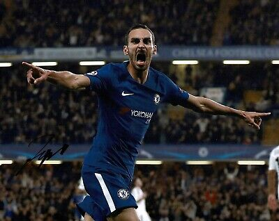 Davide ZAPPACOSTA Signed Autograph 10x8 Photo AFTAL COA Chelsea Premier League