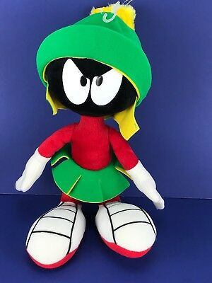 """Marvin The Martian Looney Tunes 11"""" Bendable Plush Vintage Applause 1994"""