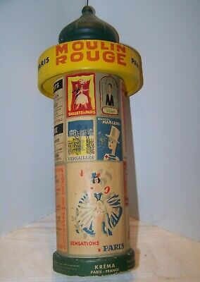 Vintage French Candy Container/Krema Paris France