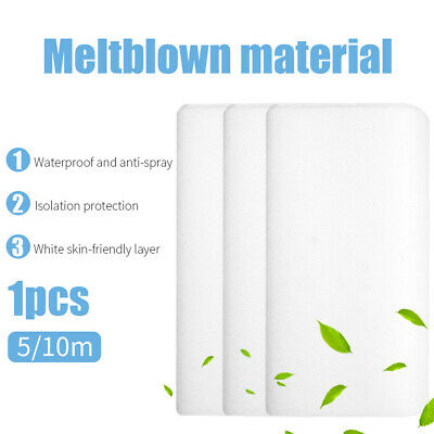 5/10m Non-woven Fabric Meltblown Filter DIY Crafts Sewing Breathable Material