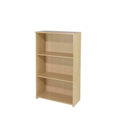 Jemini 1200mm Medium Bookcase Warm Maple KF73834