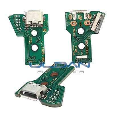 Connettore Ricarica Micro Usb Pcb 12 Pin Jds-055 Per Controller Joypad Sony Ps4