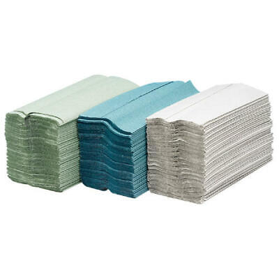 Maxima Green C-Fold Hand Towel 2-Ply White (Pack of 24)x100 Sheets KMAX5052