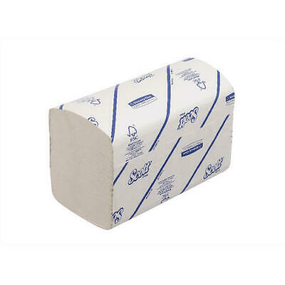 Scott Xtra Hand Towels I-Fold 1-Ply White 240 Sheets (Pack of 15 6669