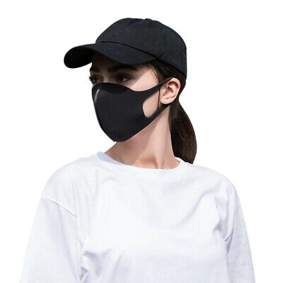 Reusable Women Men Washable Face Cover Mouth Muffle Protective UK