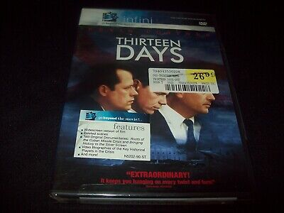 Thirteen Days (DVD) w/Kevin Costner...widescreen...........NEW & FACTORY SEALED!