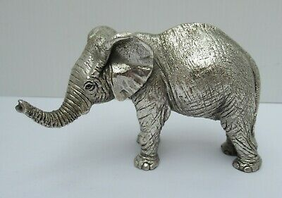 Vintage Sterling Silver Elephant By Country Artists, B'ham 1992