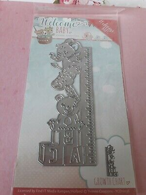 Yvonne Creations Star Frame Welcome Baby Cutting Die YCD10135