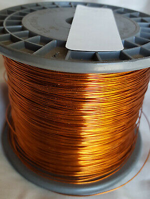 20 AWG Gauge (.031) Enameled Copper Magnet Wire 4 lbs (old Stock)