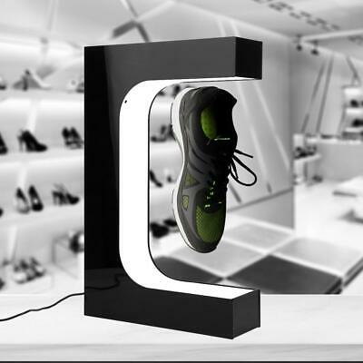 Magnetic Levitation Shoes Display Stand 360°Rotating +Additional Tool 100-240V