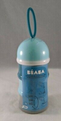 BEABA Formula & Snack Container 3 Compartments With Funnel & Carry Handle New