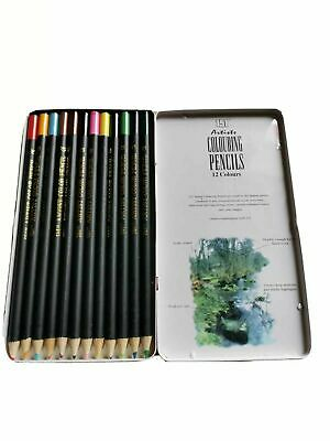 New 151 Artists Colouring Pencils 12 Colours in sealed packaging
