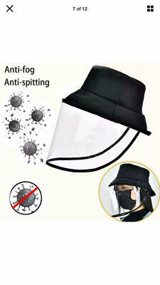 Hat With Face Shield for Social DIstance Protection