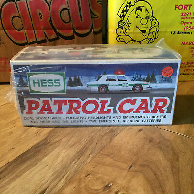 1993 Hess Toy Truck : Patrol Car - New Old Stock