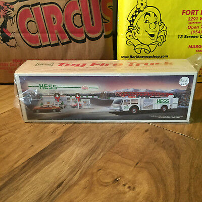 1989 Hess Toy Fire Truck  - New Old Stock Vintage