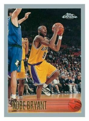1996 Kobe Bryant Rookie Card Topps Chrome