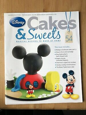 Disney Cake And Sweets Magazine Issue 54